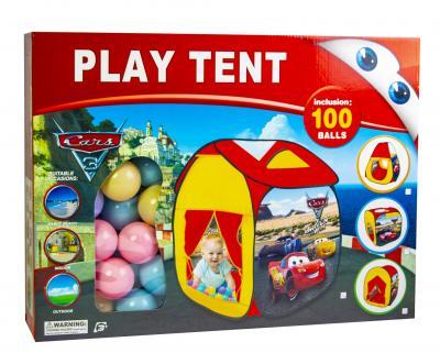 """Детская Палатка с шариками """"Тачки""""-фото"""