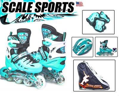 Комплект Scale Sport. Tiffany Бирюзовый, размер 29-33,34-38-фото