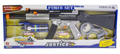 Детский набор полицейский автомат М-16 (34230)-фото