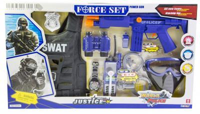 Детский набор полицейский SWAT с бронежилетом (34290)-фото