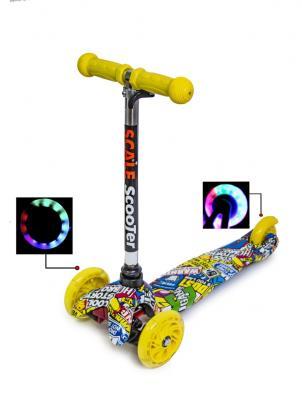 """Самокат Mini Scooter """"Hot Wheels""""-фото"""
