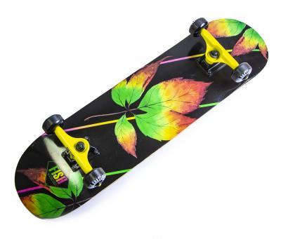"""Скейтборд Fish """"Leaf""""-фото"""
