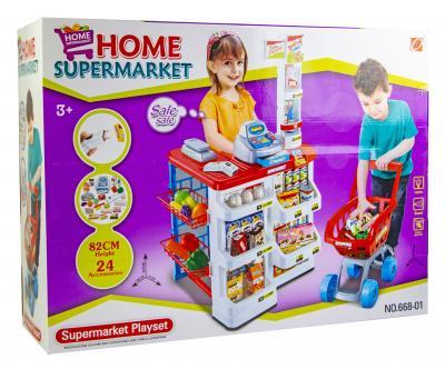 Набор Супермаркет с тележкой (668-01)-фото