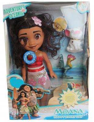 Кукла MOANA Ваяна с свинкой и Петушком-фото