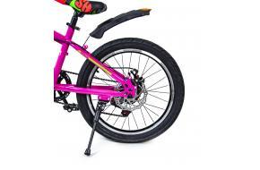 """Велосипед 20 """"SHENGDA"""" Розовый V20, Ручной и Дисковый Тормоз-фото"""