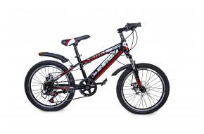 """Велосипед 20 """"SHENGDA"""" Красный V20, Ручной и Дисковый-фото"""