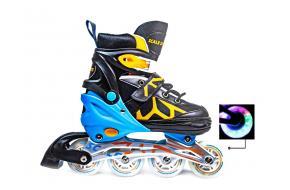 Ролики Scale Sports 601B Черно-Оранжевые 31-34, 35-38,39-42 -фото