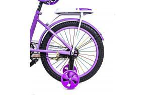 """Велосипед 18 """"Scale Sports"""" Фиолетовый T18, Ручной и Дисковый Тормоз-фото"""