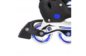 Ролики Раздвижные взрослые Scale Sports Синие XL 41-44 80 мм-фото