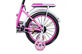 """Велосипед 16 """"SHENGDA"""" Pastel Pink T18, Ручной и Дисковый Тормоз-фото"""