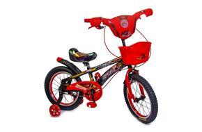Детский велосипед Spiderman Red 16 с музыкой и светом-фото