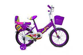 """Велосипед 16 """"SHENGDA"""" Violet T15, Ручной и Дисковый Тормоз-фото"""