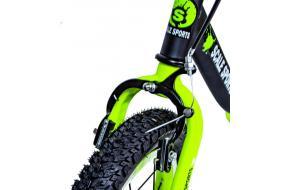 Велобег Scale Sports. Черно-салатовый цвет.-фото