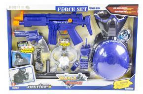 Детский набор полицейский SWAT с каской и маской (34310)-фото