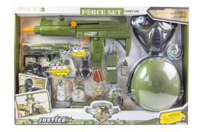 Детский набор спецназ со шлемом и маской (34320) -фото