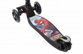 """Самокат Maxi  Disney Marvel """"Человек-паук"""" с наклоном руля и со складной ручкой -фото"""