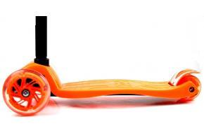 Детский Самокат Maxi Micro T Оранжевый Колеса Светятся-фото