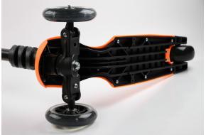 Детский трехколесный самокат Scooter Y-BIKE GLIDER MAXI Оранжевый-фото