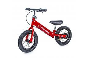 Беговел (велобег) Sensei Ning Full Красный надувные колеса-фото
