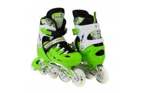 Ролики Scale Sports 905A Салатовые (Зеленые) 31-34,35-38,39-42-фото