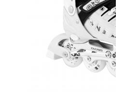 Ролики Раздвижные Scale Sports Белые 31-34,35-38,39-42-фото
