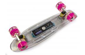 Penny Fish Skateboard с Музыкой и светящиеся декой Прозрачный-фото