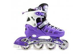 Ролики Scale Sports 905A Фиолетовые 31-34, 35-38,39-42 -фото