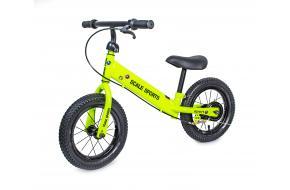 Беговел (велобег) Sensei Ning Full Салатовый надувные колеса-фото
