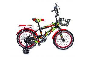 """Велосипед 16 """"SHENGDA"""" Green T12, Ручной и Дисковый Тормоз-фото"""