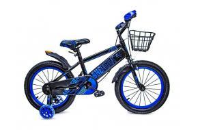 """Велосипед 16 """"SHENGDA"""" Blue T13, Ручной и Дисковый Тормоз-фото"""