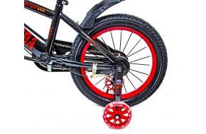 """Велосипед 16 """"SHENGDA"""" Red T13, Ручной и Дисковый Тормоз-фото"""