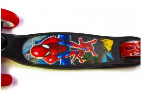 Самокат Smart Disney .Spiderman. Складная ручка.-фото
