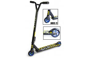 Трюковый самокат Scale Sports Extrem Abec-11 черный-фото