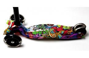 Купить Самокат Детский Maxi Best Scooter  Принтом (Рисунок) Hip-Hop-фото