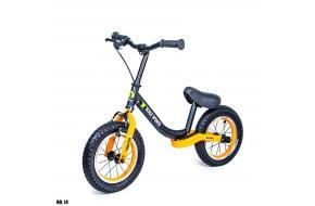 Велобег Scale Sports. Черно-оранжевый цвет.-фото