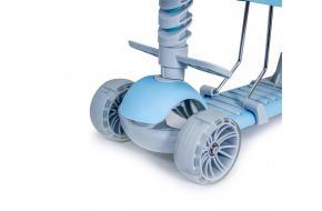 Самокат Scooter Smart 5 в 1 голубой -фото